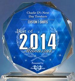 Best of 2014 Best Tee Shirt Company in Manassas Virginia