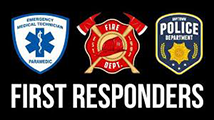 first responders tee shirts northern va