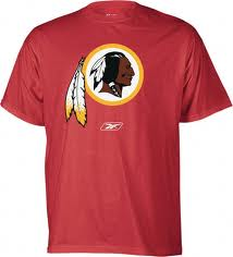 redskins football tee shirts